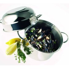 Resto 3.2-qt Stainless Steel Mussel Pot