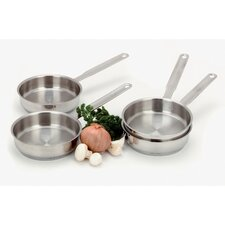 Resto 4-pc Stainless Steel Mini Fry Pan Set