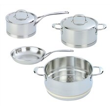 Atlantis 6-pc Stainless Steel Cookware Set