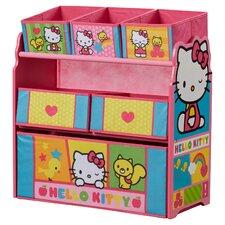 Hello Kitty Multi Bin Toy Organizer