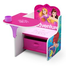 Disney Princess Kids Novelty Chair with Storage Compartment