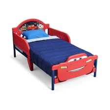Disney Cars 3D Convertible Toddler Bed