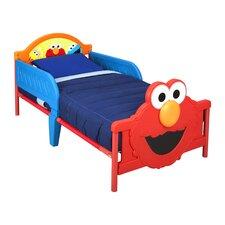 Sesame Street 3D Convertible Toddler Bed