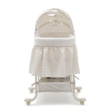 Simmons Deluxe Sand Castle Gliding Bassinet