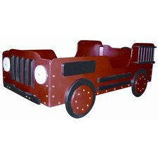 Fire Truck Toddler Car Bed