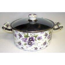 Enamel Kitchenware Soup Pot with Lid