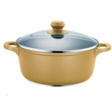 Hard Cast Stock Pot with Lid