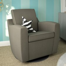 Ultramotion Upholstered Swivel Glider