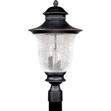 Outdoor 3 Light Cast Aluminum Post Light