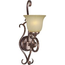 One Light Wall Sconce in Rustic Spice