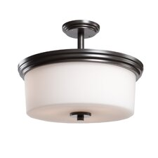 Russell Hill 3 Light Flush Mount