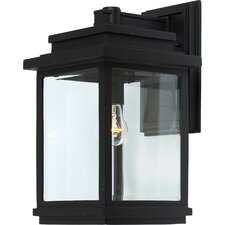 Fremont 1 Light Outdoor Wall Lantern
