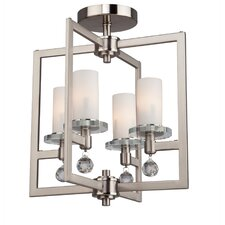 Cambridge 4 Light Semi Flush Mount