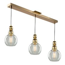 Popular 3 Light Kitchen Island Pendant