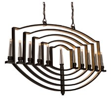 Perceptions 11 Light Candle Chandelier