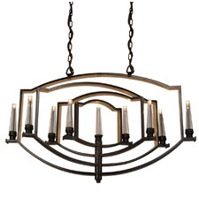 Perceptions 9 Light Candle Chandelier