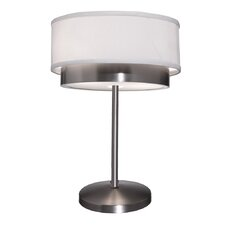 "Scandia 19"" H Table Lamp with Drum Shade"