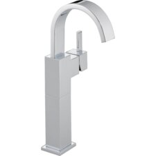Vero Single Hole Vessel Bathroom Faucet with Riser