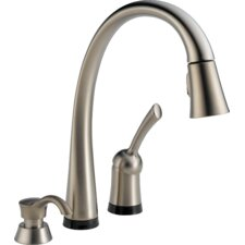 Pilar Single Handle Deck Mounted Kitchen Faucet