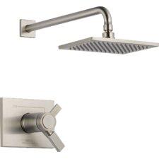 Vero Vollume Control Shower Faucet Trim with Lever Handles