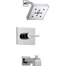 Vero Diverter Tub and Shower Faucet Trim with Lever Handle