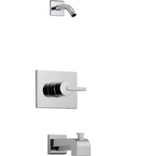 Vero Pressure Balance Tub and Shower Trim with Metal Lever Handle