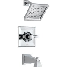 Dryden Pressure Balance Tub and Shower Trim with Metal Lever Handle