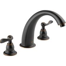 Windemere Double Handle Deck Mount Roman Tub Faucet Trim