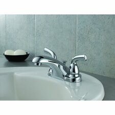 Foundations Two Handle Centerset Lavatory Faucet with Pop-Up Drain