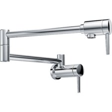 Single Hangle Wall Mount Pot Filler Faucet