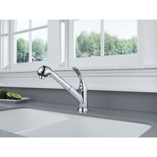 Foundations Single Handle Deck Mounted Kitchen Faucet