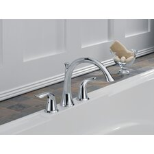 Lahara Double Handle Deck Mount Roman Tub Faucet Trim