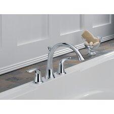 Lahara Double Handle Deck Mount Roman Tub Faucet Trim