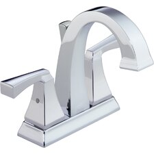 Dryden Double Handle Centerset Bathroom Faucet with Sink Faucet (Drain Included)