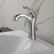 Addison Single Hole Bathroom Faucet with Diamond Seal Technology with Metal Pop-Up Drain