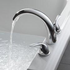 Classic Double Handle Deck Mount Roman Tub Faucet Trim