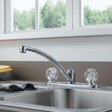 Foundations Double Handle Centerset Kitchen Faucet