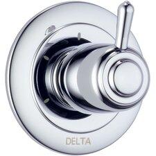 Diverter Faucet Trim with Lever Handles