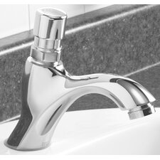 Single Hole Metering Slow-Close Bathroom Faucet
