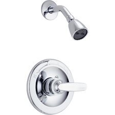 Foundations Thermostatic Shower Faucet Trim with Lever Handle
