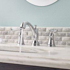 Linden Double Handle Widespread Bathroom Faucet