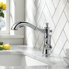 Cassidy Single Handle Centerset Pull-Out Kitchen Faucet