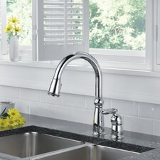 Victorian Single Handle Deck Mounted Kitchen Faucet