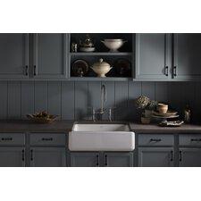 "Whitehaven Self-Trimming 29-11/16"" x 21-9/16"" x 9-5/8"" Undermount Single Bowl Kitchen Sink"