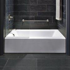 "Bellwether Alcove 60"" x 32"" Soaking Bathtub"