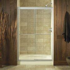"Fluence 70.31"" x 47.63"" Sliding Shower Door"