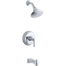 Archer Bath/Shower Trim Set with Lever Handle, Valve Not Included