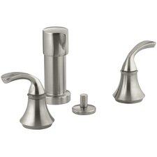 Forté Vertical Spray Bidet Faucet with Sculpted Lever Handles