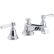 Pinstripe Pure Widespread Lavatory Faucet with Lever Handles