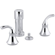 Forté Vertical Spray Bidet Faucet with Sculpted Lever Handles